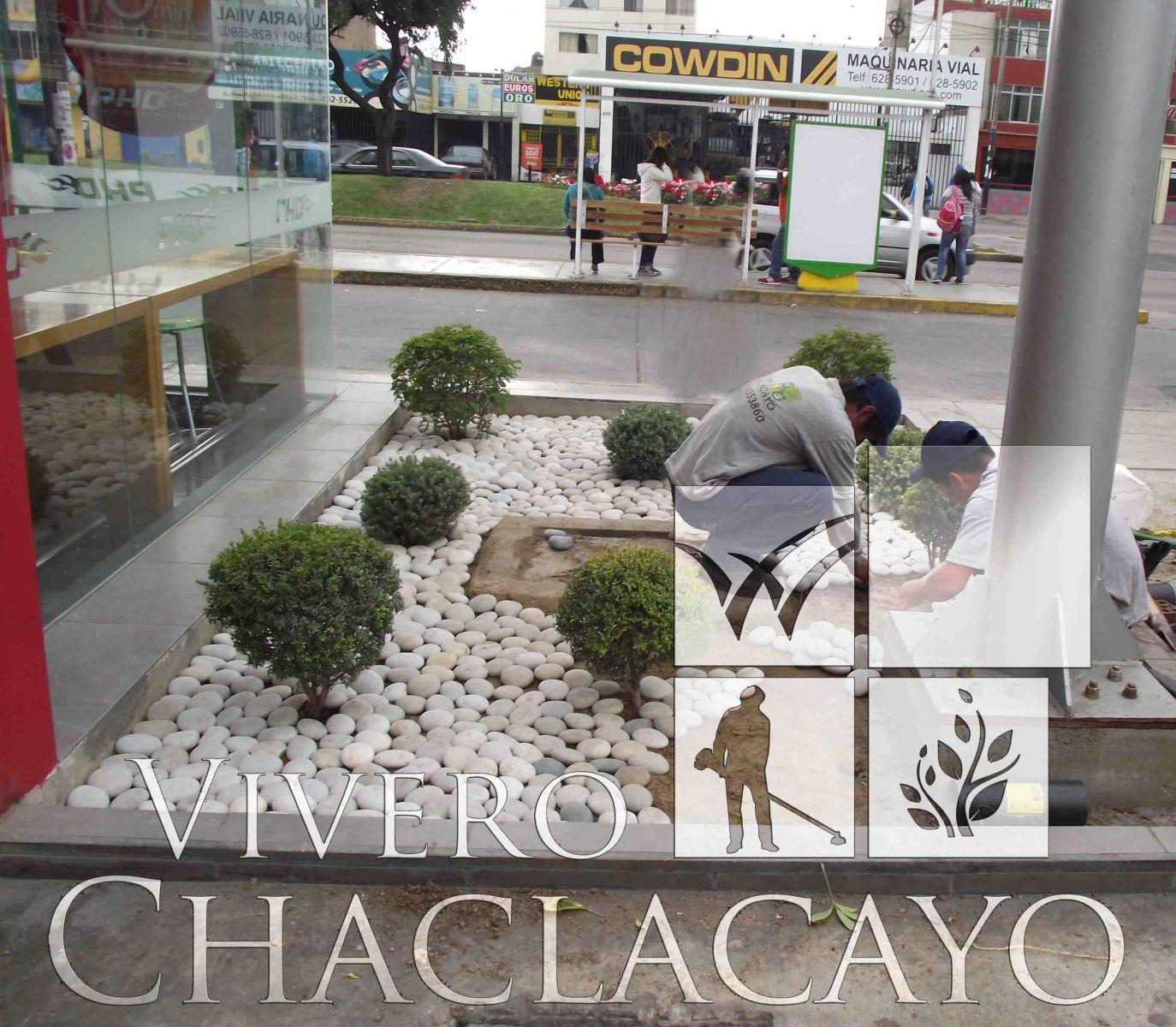 Instalaci n de piedra canto rodado lima metropolitana for Viveros en lima